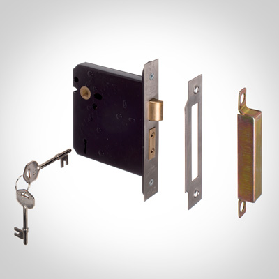 5 Lever Mortice Lock Set for Knob Handles