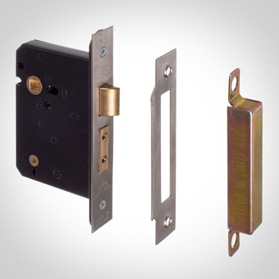 Mortice Set for Privacy Lock for Lever Handles