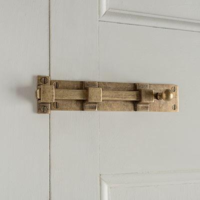 Priory Door Bolt & Security | Bolts | Door Locks | Ironmongery | Jim Lawrence