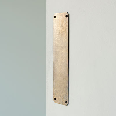 Corner Notch Finger Plate
