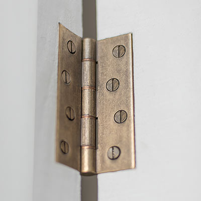 Rectangular Brass Butt Hinge