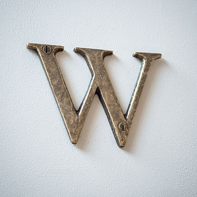 Letter W