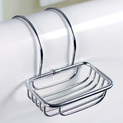 Roll Top Soap Basket