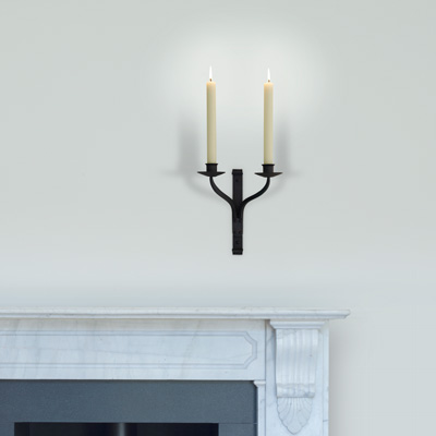 Friston Double Candle Sconce