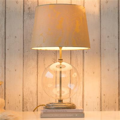 Harleston Table Lamp with Clear Glass