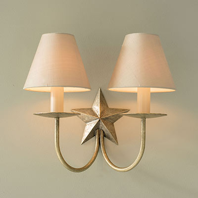Double Star Wall Light