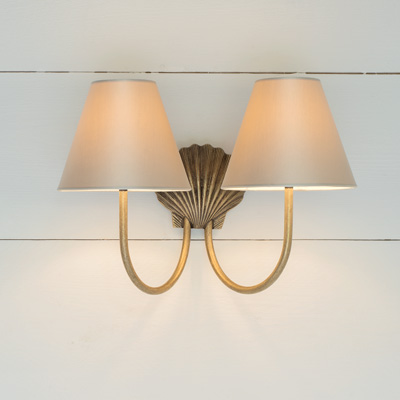 Double Saunton Bathroom Wall Light