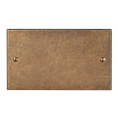 Double Blank Bevelled Plate