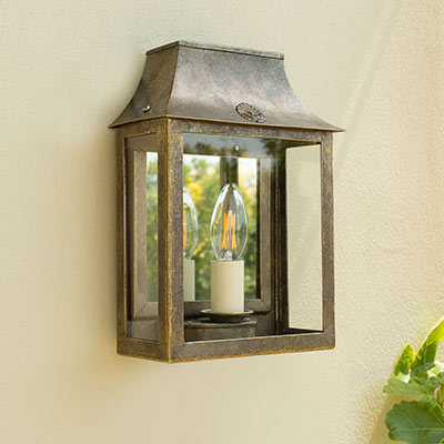 Outdoor Lighting Garden Wall Lights Hand Finished In