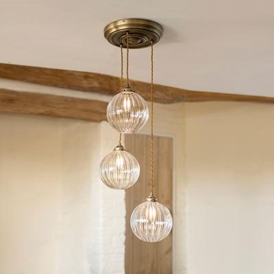 Fulbourn Triple Pendant Light