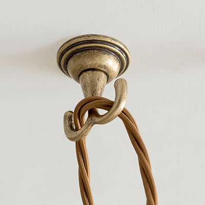 Ceiling roses ceiling hooks lighting accessories jim lawrence pendant flex ceiling hook aloadofball Image collections