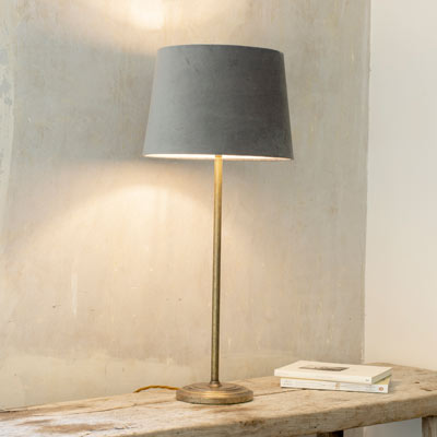 Battersea Table Lamp in Antiqued Brass