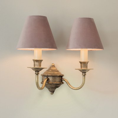 Double Brancaster Wall Light