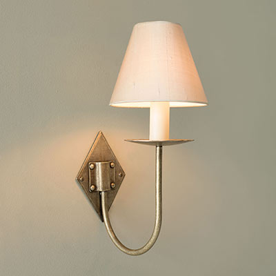 Single Diamond Wall Light