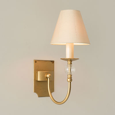 Single Fanshaw Wall Light