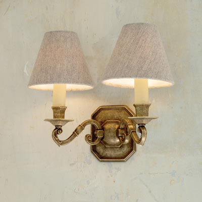 Double Gainsborough Wall Light