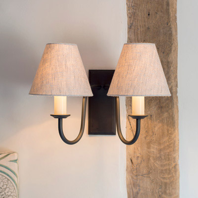 Double Gosford Wall Light