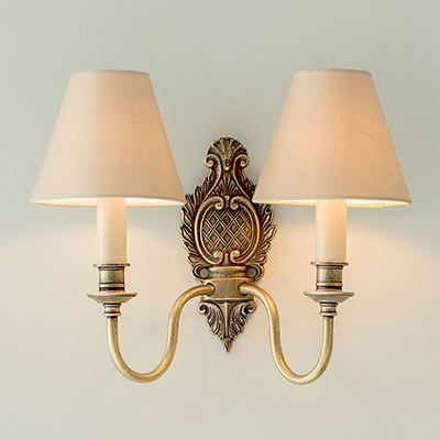 Double Hambleton Wall Light