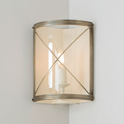 Hamilton Corner Wall Light