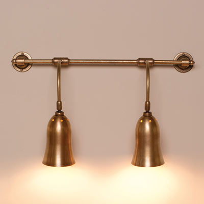 Double Howard Wall Light