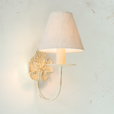 Single Leaf Wall Light