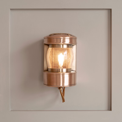 Masthead Light in Heritage Copper