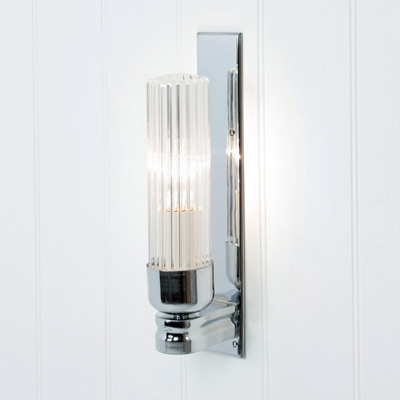 Raydon Wall Light (Fluted Glass)