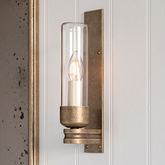 Raydon Wall Light (Clear Glass)
