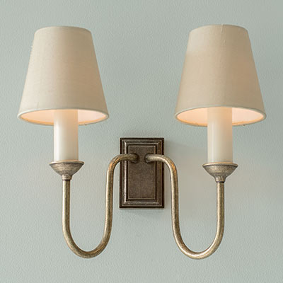 Rowsley Double Wall Light