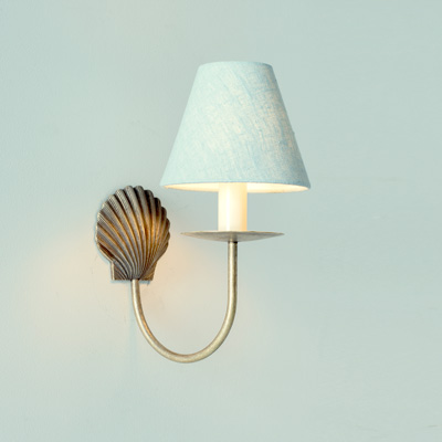 Single Shell Wall Light