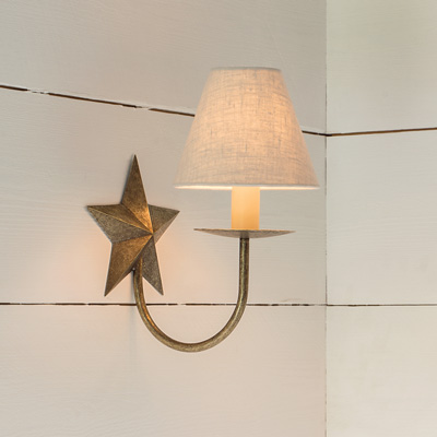 Single Star Wall Light