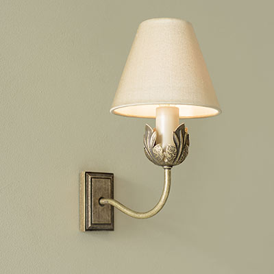 Single Tulip Wall Light