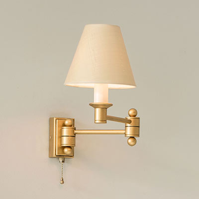 Hanson Wall Light with Pull Cord