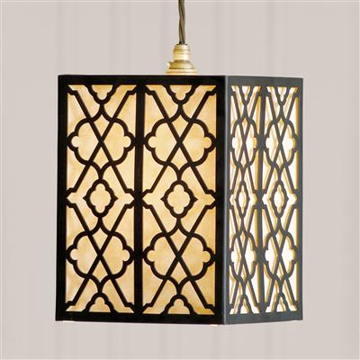 Pembridge Fretwork Pendant Light