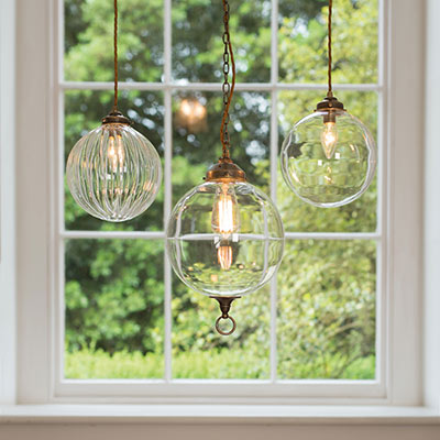 Fulbourn Glass Pendant Light