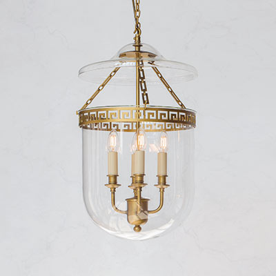 Plain Glass Stafford Pendant Light