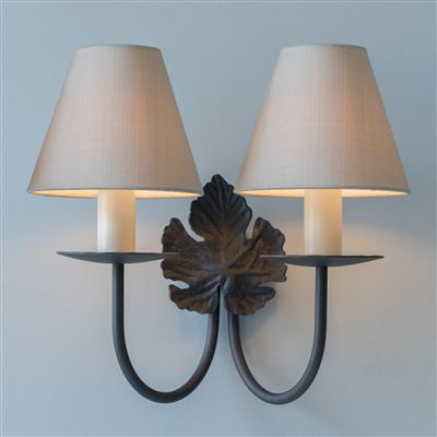 Double Leaf Wall Light