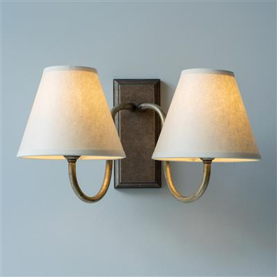 Double Malvern Bathroom Wall Light