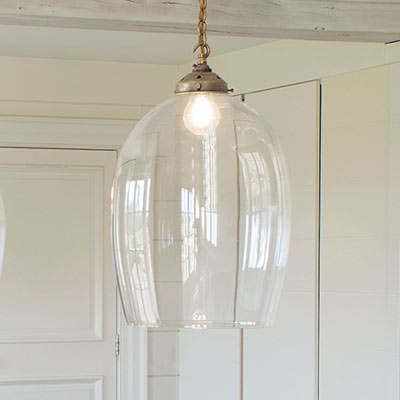 Chalford Glass Pendant Light