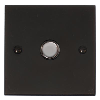 1 Gang Chrome Slave Touch Dimmer Bevelled Plate