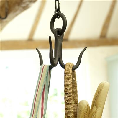 Larder Hook with Ceiling Hook