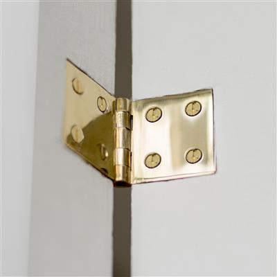 Square Brass Butt Hinge