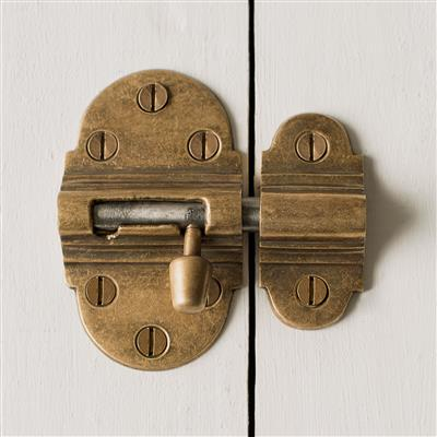Brass Newark Door Bolt
