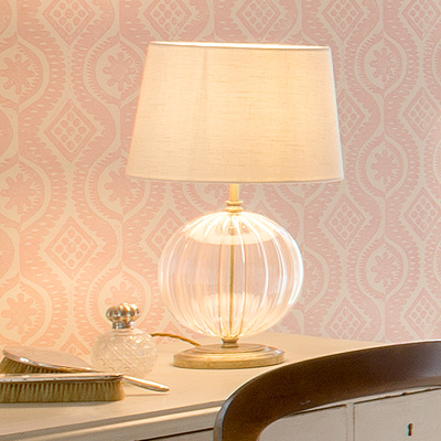 Harleston Table Lamp in Antiqued Brass