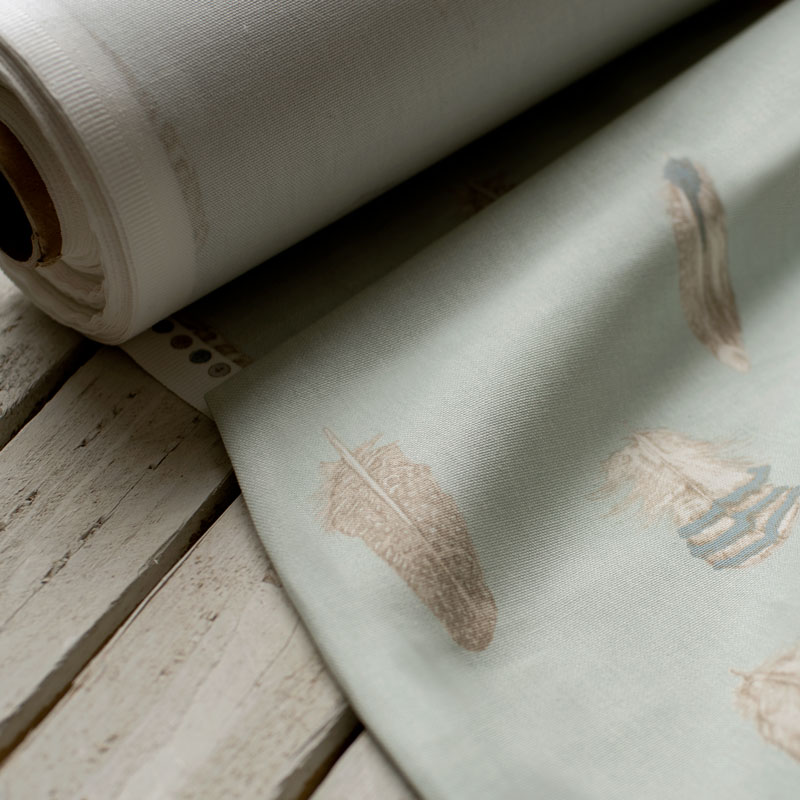 Featherdown Duck Egg Blue Fabric