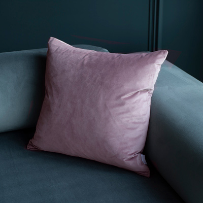 Cushion Cover in Dusky Pink