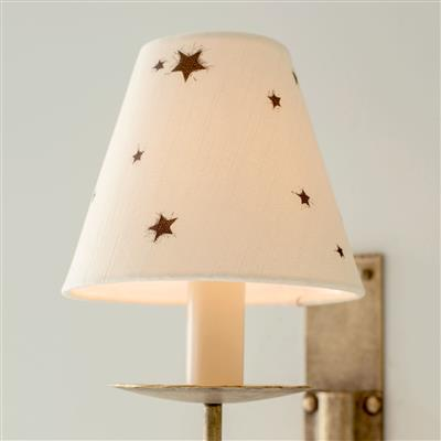 Candle Shade in Natural Little Star