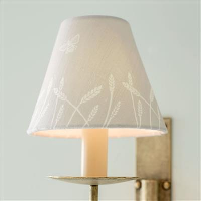 Candle Shade in Natural Wheatfield