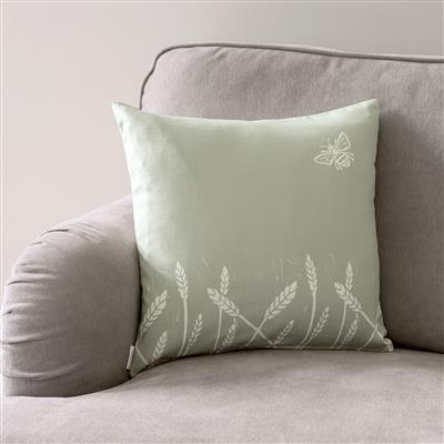 Summer Fields Cushion Cover in Country Green