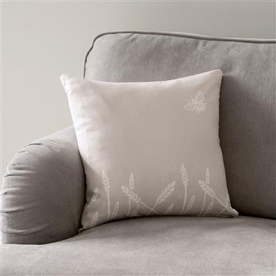 Summer Fields Cushion Cover in Soft Grey